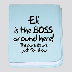 Eli is the Boss baby blanket