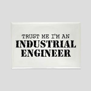Industrial Engineer Rectangle Magnet