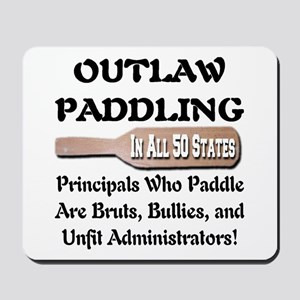 Outlaw Corporal Punishment Mousepad