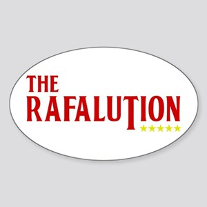 The Rafalution ***** Oval Sticker
