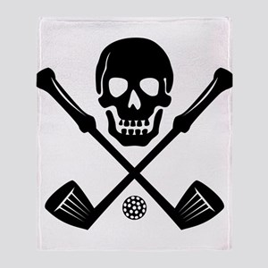 I Love Golf Throw Blanket