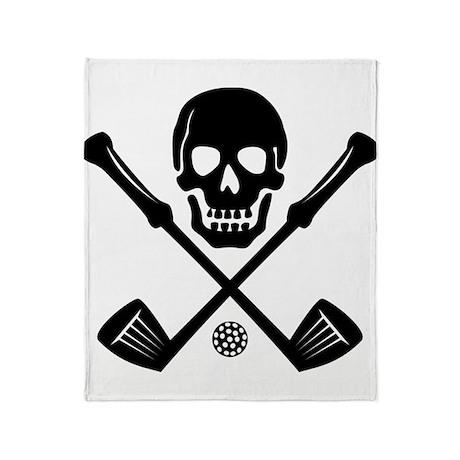 I Love Golf Throw Blanket