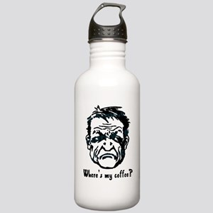 Where's my coffee? Stainless Water Bottle 1.0L