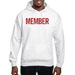 Member (red) Hooded Sweatshirt