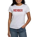 Member (red) Women's T-Shirt