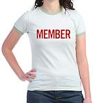 Member (red) Jr. Ringer T-Shirt