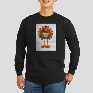 PLEASE order out pizza ! Long Sleeve Dark T-Shirt