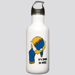 IT'S DARK IN HERE Stainless Water Bottle 1.0L