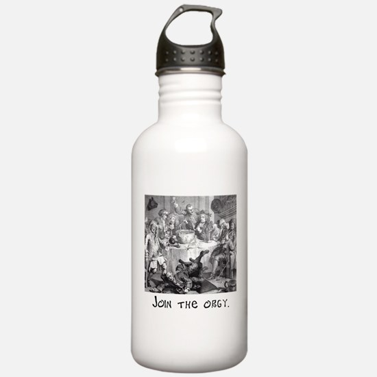 Join the orgy. Water Bottle