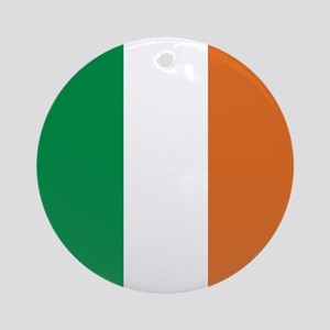 Ireland Irish Flag Ornament (Round)