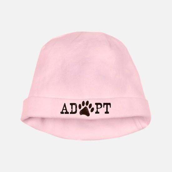 Adopt an Animal baby hat