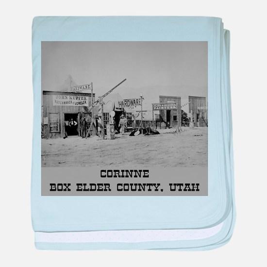 Corinne Box Elder County baby blanket