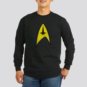 Original Star Trek Long Sleeve Dark T-Shirt