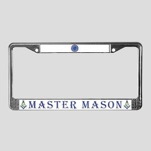 Massachusetts Masons License Plate Frame