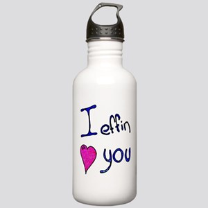I effin love you Stainless Water Bottle 1.0L