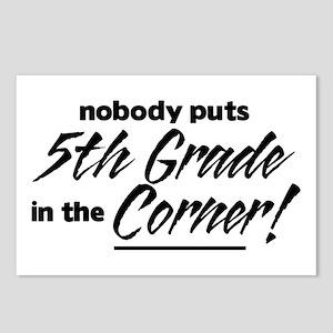 5th Grade Nobody Corner Postcards (Package of 8)