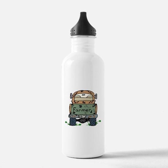 Farm Truck Water Bottle