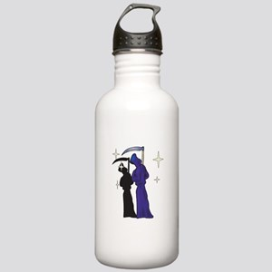 Grim Reapers on the Prowl Stainless Water Bottle 1