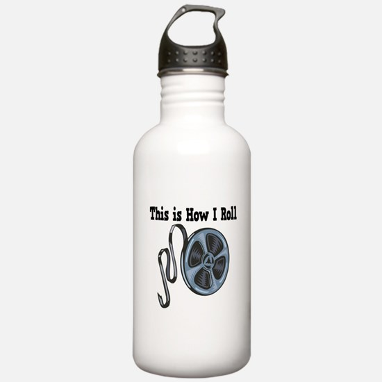 How I Roll (Movie Film) Water Bottle