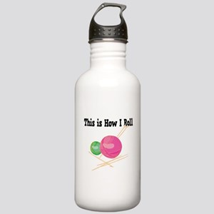 How I Roll (Yarn) Stainless Water Bottle 1.0L