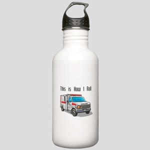 How I Roll (Ambulance) Stainless Water Bottle 1.0L