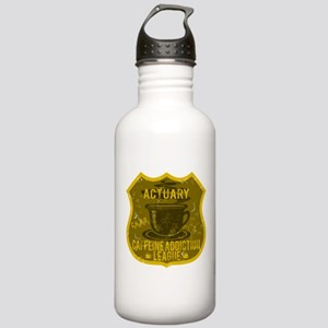 Actuary Caffeine Addiction Stainless Water Bottle
