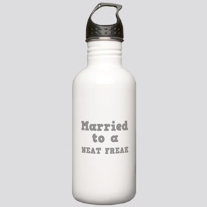 Married to a Neat Freak Stainless Water Bottle 1.0