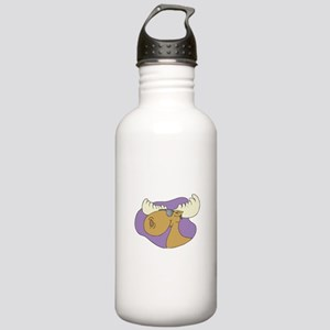 Moose In Shades Stainless Water Bottle 1.0L