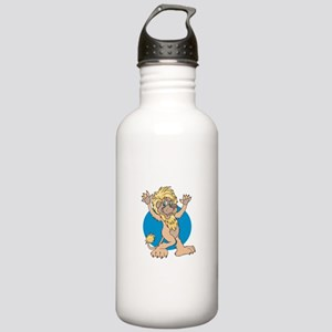 Dancing Lion Stainless Water Bottle 1.0L