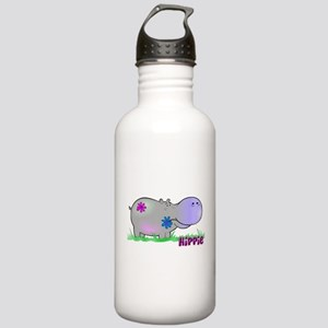 Hippie Hippo Stainless Water Bottle 1.0L