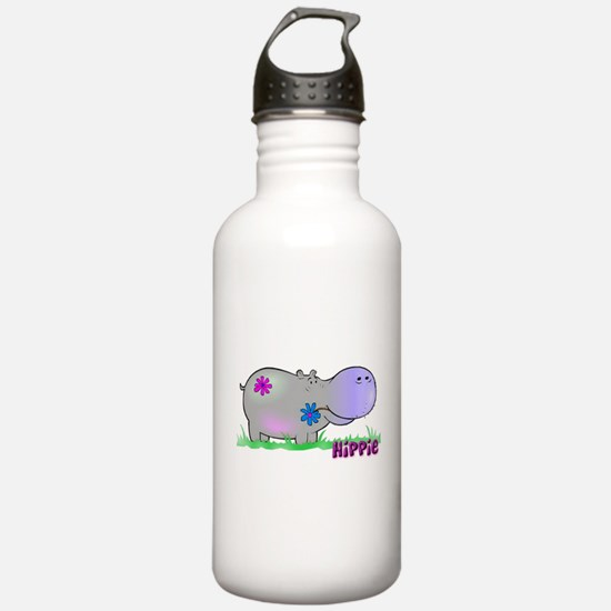 Hippie Hippo Water Bottle