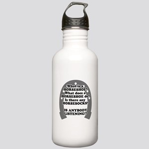 What is a Horseshoe? Stainless Water Bottle 1.0L