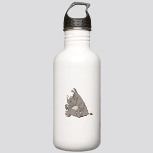 Rhino with an Attitude Stainless Water Bottle 1.0L