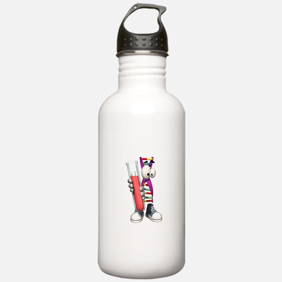 Funny DNA Testing Water Bottle