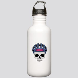 Cycling Skull Head Stainless Water Bottle 1.0L