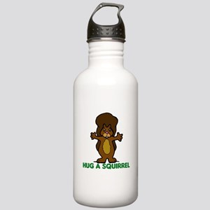 Hug a Squirrel Stainless Water Bottle 1.0L