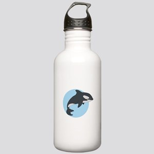 Cute Killer Whale Stainless Water Bottle 1.0L