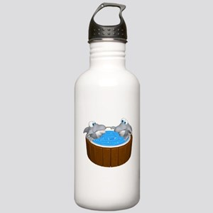 Sharks in a Hot Tub Stainless Water Bottle 1.0L