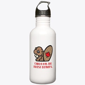 Canada Nicest Beavers Stainless Water Bottle 1.0L