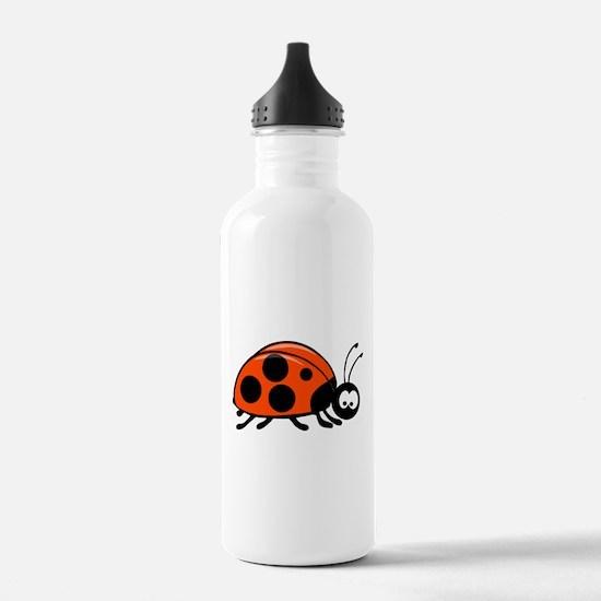 Lady Bug Water Bottle