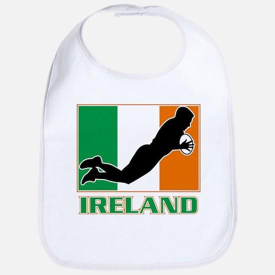 rugby ireland irish Bib