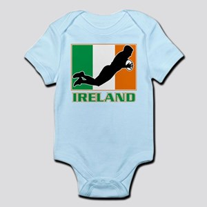 rugby ireland irish Infant Bodysuit