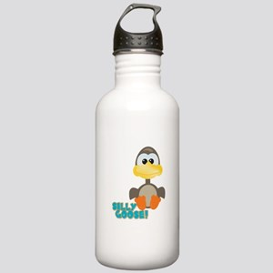 Goofkins Silly Silly Goose Stainless Water Bottle