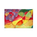 Fruit Watercolor Rectangle Magnet