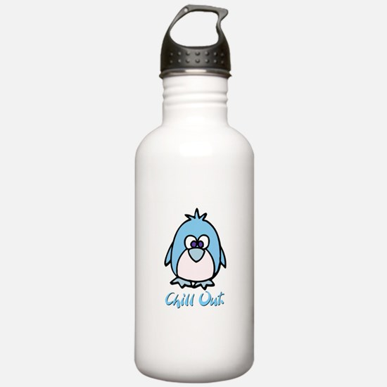 Chill Out Penguin Sports Water Bottle