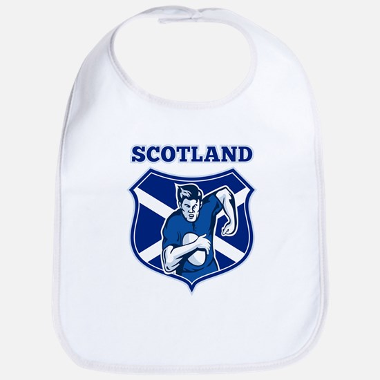 rugby scotland scottish Bib