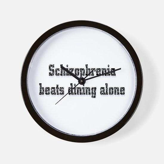 Schizophrenia  Wall Clock