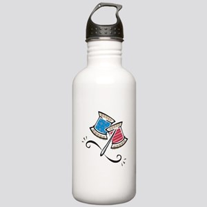 Cute Needle & Thread Design Stainless Water Bo