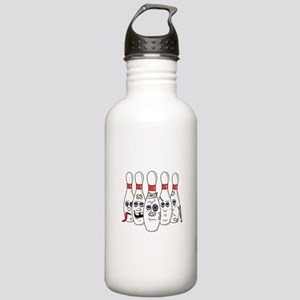 Beat Up Bowling Pins Stainless Water Bottle 1.0L