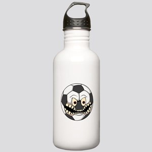 Angry Soccer Ball Stainless Water Bottle 1.0L